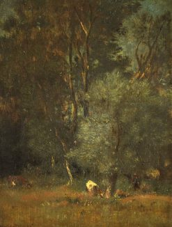Forest View | Jules DuprE | Oil Painting