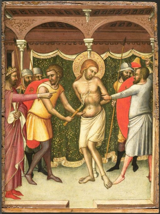 The Flagellation   Luca di TommE   Oil Painting