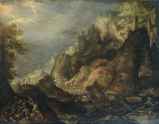Mountainous Landscape | Lucas van Valckenborch | Oil Painting