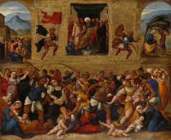 Massacre of the Innocents | Ludovico Mazzolino | Oil Painting
