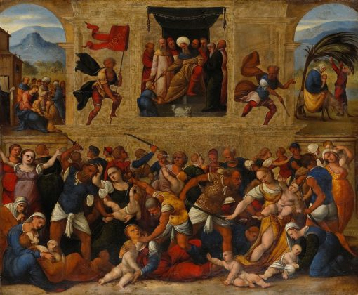Massacre of the Innocents | Ludovico Mazzolino | Oil Painting