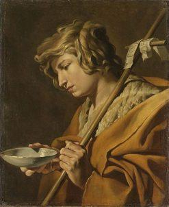 St John the Baptist | Matthias Stomer | Oil Painting