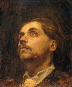 Portrait of Jacob Maris | Matthijs Maris | Oil Painting
