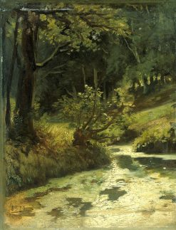 Brook in the Woods near Oosterbeek | Matthijs Maris | Oil Painting