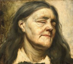 Study of an Old Woman | Matthijs Maris | Oil Painting