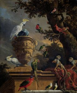The Menagerie | Melchior d'Hondecoeter | Oil Painting