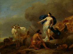 Juno Commands Argus to Guard | Nicolaes Berchem | Oil Painting