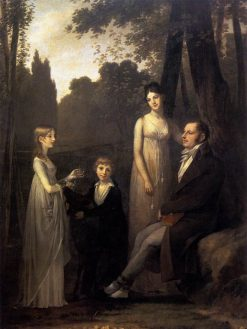 Rutger Jan Schimmelpenninck with his Wife and Children | Pierre Paul Prud'hon | Oil Painting