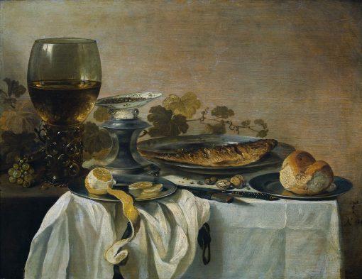 Still Life   Pieter Claesz   Oil Painting