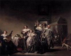 Gallant Company | Pieter Codde | Oil Painting