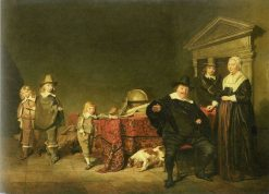 Family Group | Pieter Codde | Oil Painting