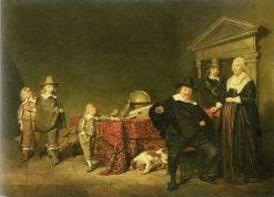 Family Group | Pieter Codde | Oil Painting