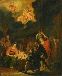 Adoration of the Shepherds | Pieter Codde | Oil Painting