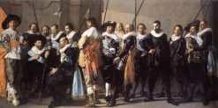 The Meagre Company(also known as The Company of Captain Reinier Reael and Lieutenant Cornelius Blaeuw.)   Pieter Codde   Oil Painting
