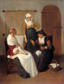 Confidential Conversation | Quiringh van Brekelenkam | Oil Painting