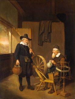 An Interior | Quiringh van Brekelenkam | Oil Painting