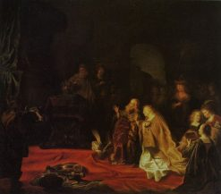 The Idolatry of King Solomon | Salomon Koninck | Oil Painting