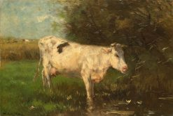 White Cow | Willem Maris | Oil Painting