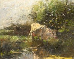 Meadow with Cows | Willem Maris | Oil Painting