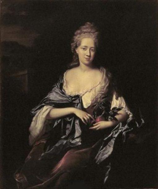 Portrait of Elizabeth Dierquens   Adriaen van der Werff   Oil Painting