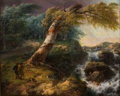 Landscape in a Storm | Gerard van Nijmegen | Oil Painting