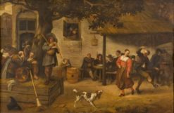 Village Feast | Jan Havicksz. Steen | Oil Painting