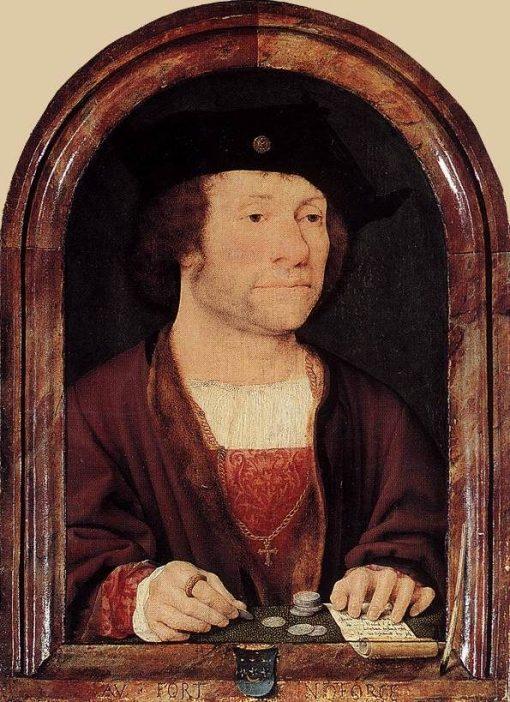 Portrait of Anthonis van Hilten | Joos van Cleve | Oil Painting