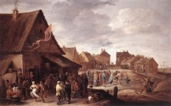 Village Feast - Annual Fair | David Teniers II | Oil Painting