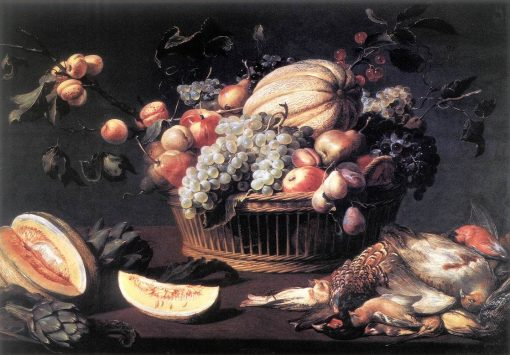 Still Life with Basket of Fruit and Dead Birds | Frans Snyders | Oil Painting
