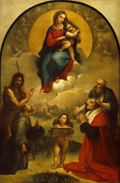Madonna di Foligno   Anton Raphael Mengs   Oil Painting