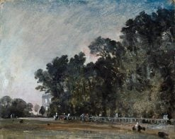 Landscape Study: Scene in a Park | John Constable | Oil Painting