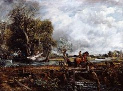 The Leaping Horse | John Constable | Oil Painting