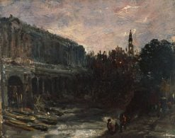 Somerset House | John Constable | Oil Painting