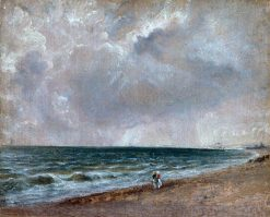 Seascape Study: Brighton Looking West | John Constable | Oil Painting