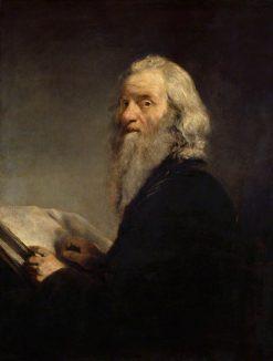 A Jewish Rabbi   John Jackson   Oil Painting