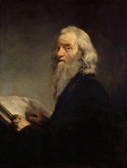 A Jewish Rabbi | John Jackson | Oil Painting