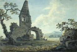 Ruins in a Landscape | Paul Sandby