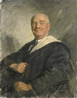 Sir Joseph Barcroft | Reginald Grenville Eves | Oil Painting