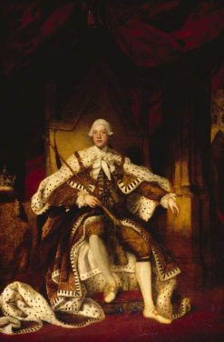 George III (1738-1820) | Sir Joshua Reynolds | Oil Painting