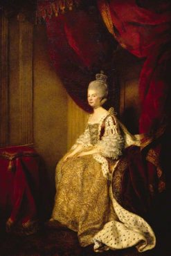 Queen Charlotte (1744-1818) | Sir Joshua Reynolds | Oil Painting