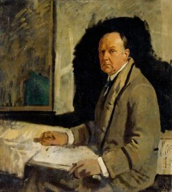 Study for a Portrait of Leonard Stokes | Sir William Orpen | Oil Painting