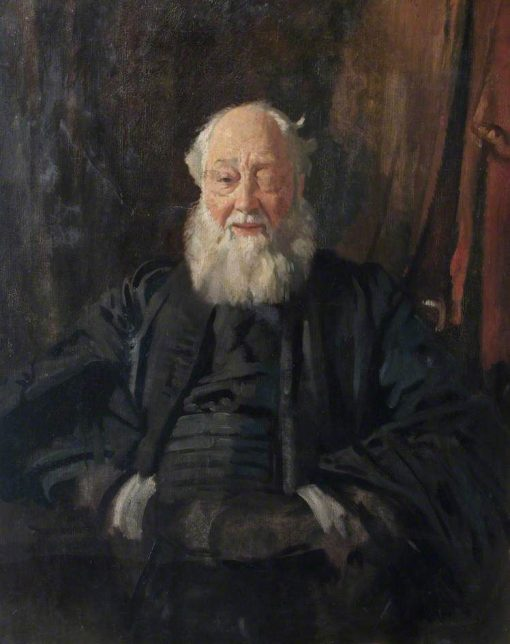 Dr Butler in Robes | Sir William Orpen | Oil Painting