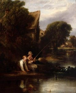 Young Anglers   William Collins   Oil Painting
