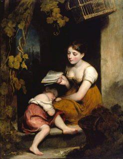 Cottage Children   William Owen   Oil Painting
