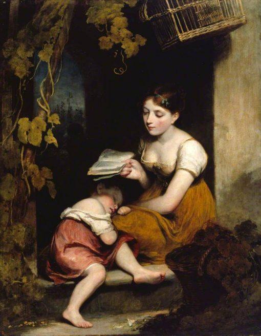 Cottage Children | William Owen | Oil Painting