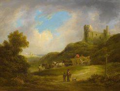 Landscape with a Castle | Francis Towne | Oil Painting