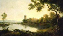 Llyn Peris and Dolbadarn Castle | Richard Wilson