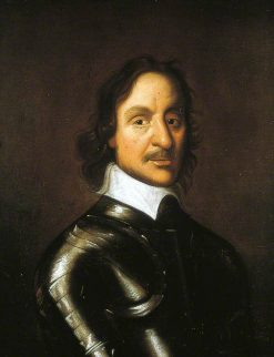 Oliver Cromwell (1599-1658)   British School th Century   Unknown   Oil Painting
