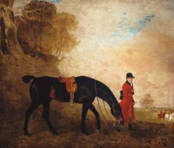 Curricle' with a Huntsman | Benjamin Marshall | Oil Painting