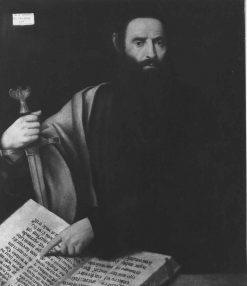 Saint Paul | Bernardino Licinio | Oil Painting